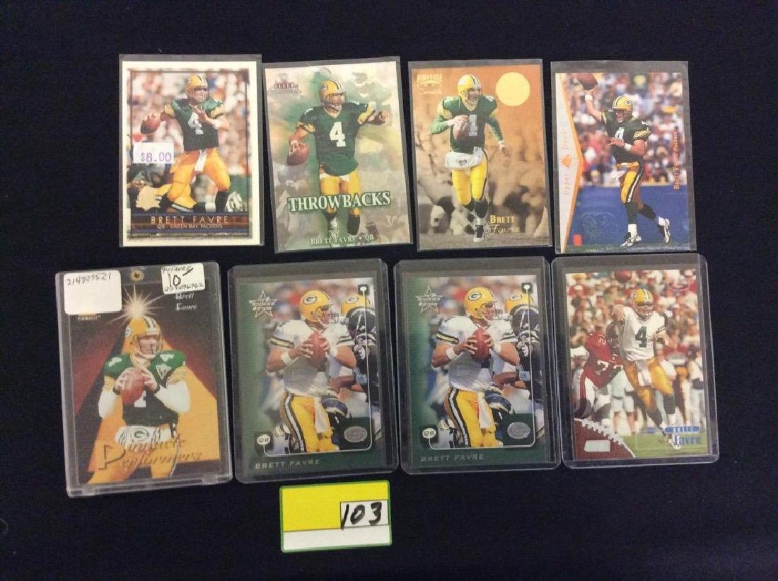 44 COUNT. ASSORTED FOOTBALL CARDS PORTRAYING THE ICONIC - 5