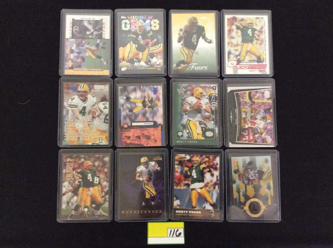 48 COUNT. EVERY CARD, ALL BRETT FARVE, ALL DAY AND ALL