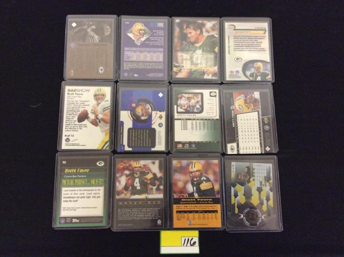 48 COUNT. EVERY CARD, ALL BRETT FARVE, ALL DAY AND ALL - 2