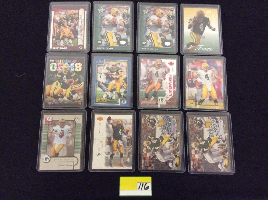 48 COUNT. EVERY CARD, ALL BRETT FARVE, ALL DAY AND ALL - 3