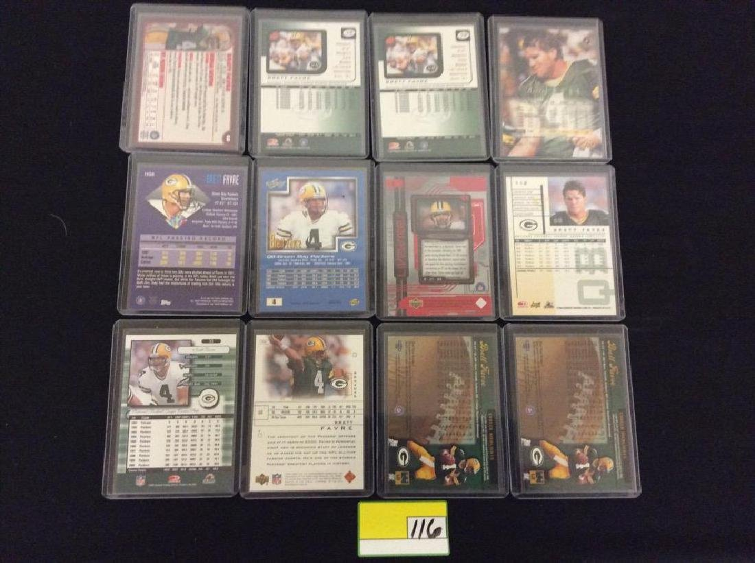 48 COUNT. EVERY CARD, ALL BRETT FARVE, ALL DAY AND ALL - 4