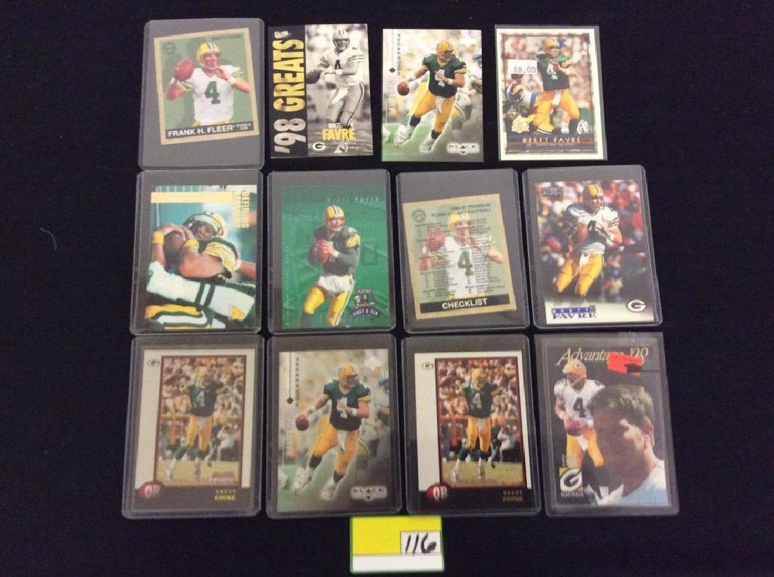 48 COUNT. EVERY CARD, ALL BRETT FARVE, ALL DAY AND ALL - 5