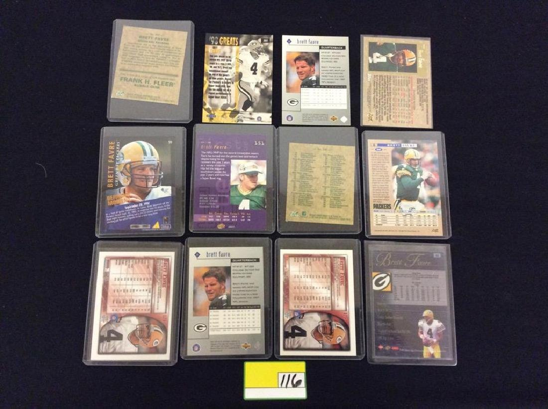 48 COUNT. EVERY CARD, ALL BRETT FARVE, ALL DAY AND ALL - 6