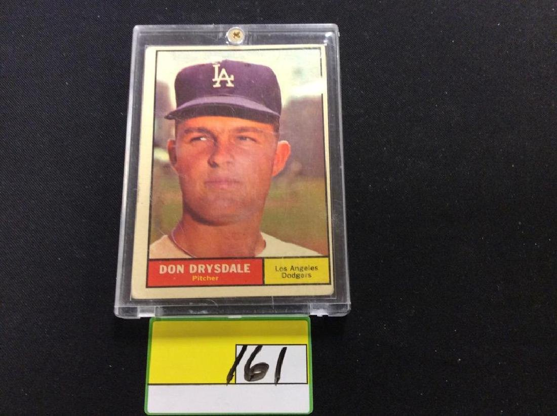 """VINTAGE 1961 TOPPS SET BREAK """"DON DRYSDALE"""" ONE OF THE"""