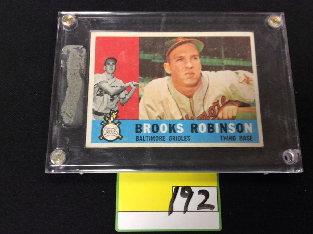 1960 TOPPS #28 BROOKS ROBINSON. THE CARD YOU'VE BEEN
