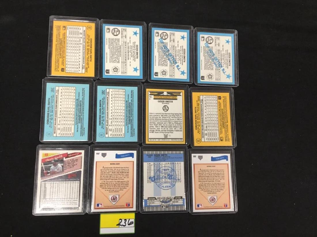 """46 COUNT. ASSORTED MIXED LOT """"OZZIE SMITH"""" TOPPS, - 2"""