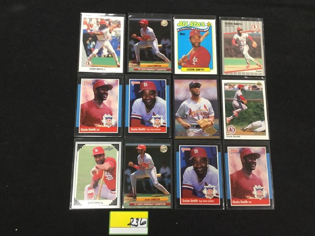"""46 COUNT. ASSORTED MIXED LOT """"OZZIE SMITH"""" TOPPS, - 5"""