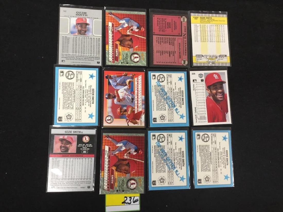 """46 COUNT. ASSORTED MIXED LOT """"OZZIE SMITH"""" TOPPS, - 6"""