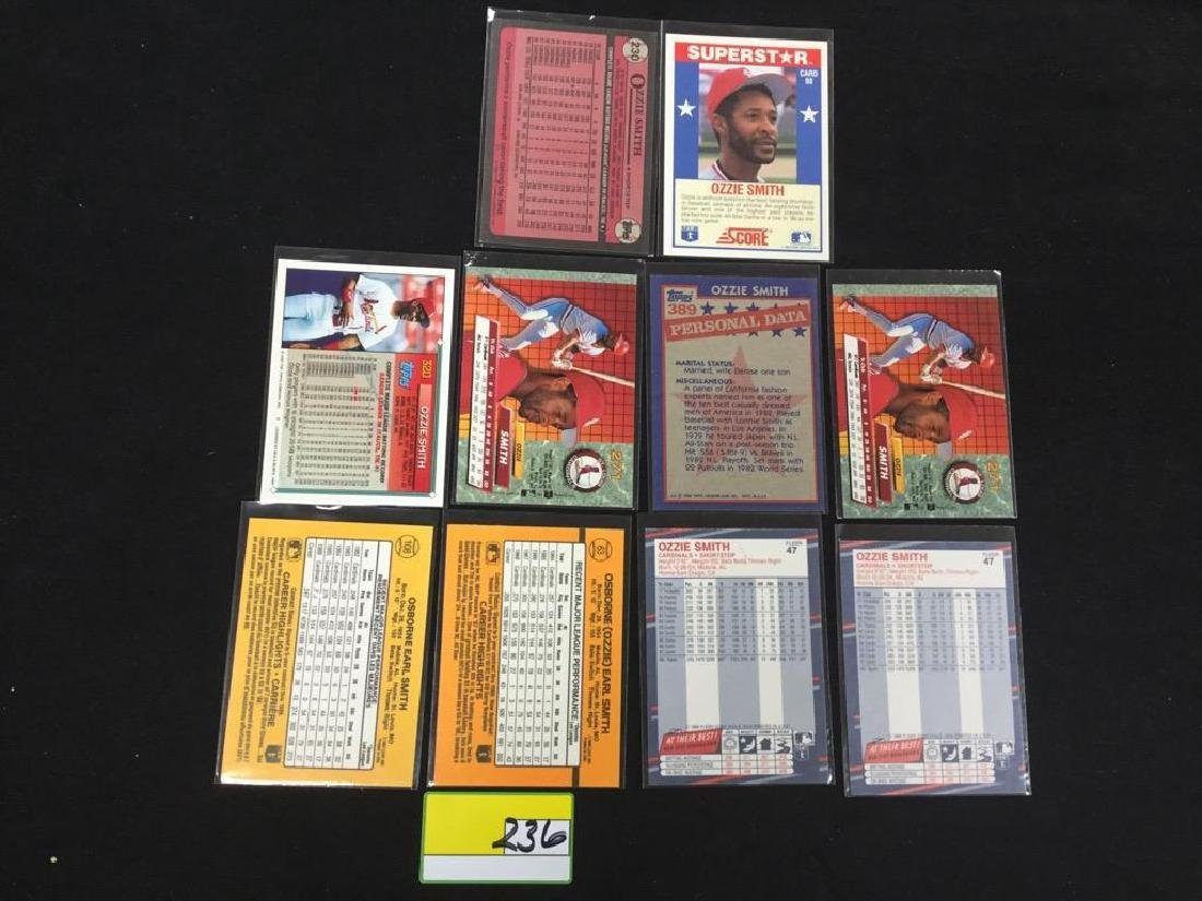 """46 COUNT. ASSORTED MIXED LOT """"OZZIE SMITH"""" TOPPS, - 8"""