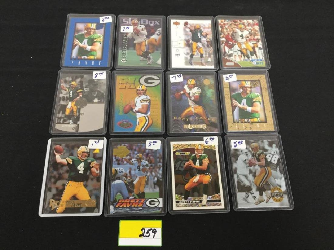 44 COUNT ASSORTED MIXED LOT ALL PRO HALL OF FAMER,