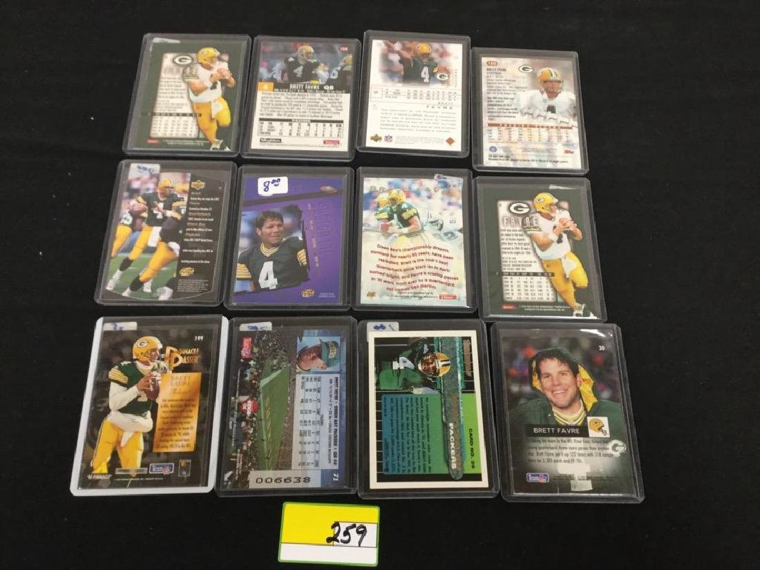 44 COUNT ASSORTED MIXED LOT ALL PRO HALL OF FAMER, - 2