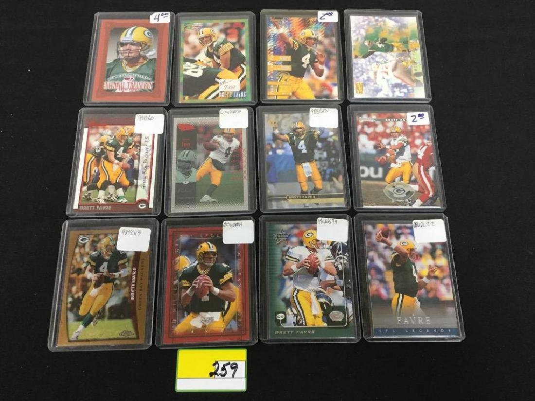44 COUNT ASSORTED MIXED LOT ALL PRO HALL OF FAMER, - 3