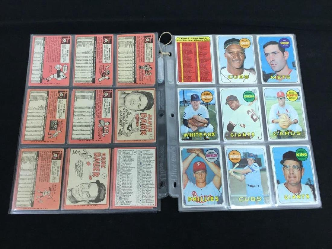 86 COUNT VINTAGE MIXED LOT 1969 TOPPS BASEBALL CARDS. - 4