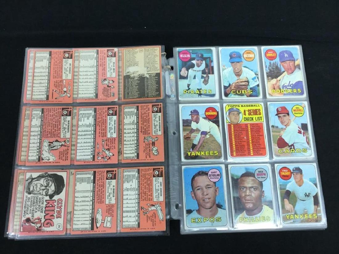 86 COUNT VINTAGE MIXED LOT 1969 TOPPS BASEBALL CARDS. - 5