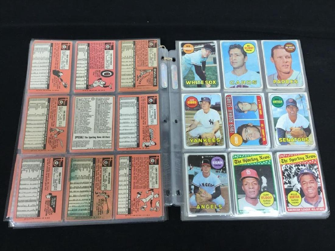 86 COUNT VINTAGE MIXED LOT 1969 TOPPS BASEBALL CARDS. - 6
