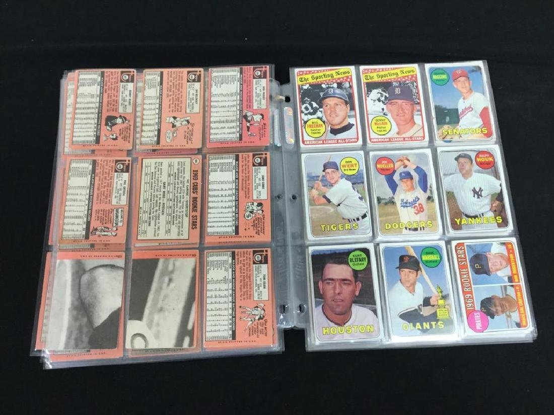 86 COUNT VINTAGE MIXED LOT 1969 TOPPS BASEBALL CARDS. - 7