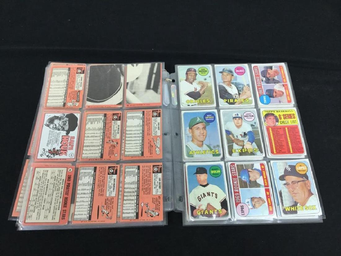 86 COUNT VINTAGE MIXED LOT 1969 TOPPS BASEBALL CARDS. - 8