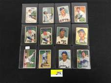 19 COUNT 1951 BOWMAN BASEBALL PICTURE CARDS IN THE
