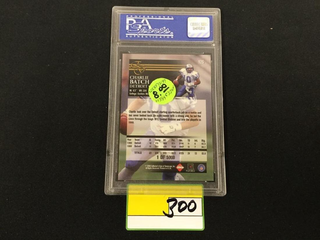 2000 COLL. EDGE GRADED #125 CHARLIE BATCH UNCIRCULATED. - 2