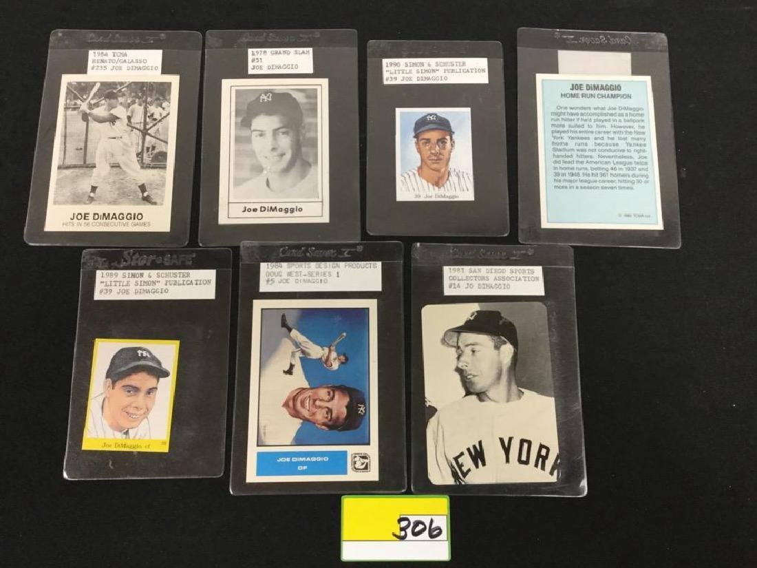 7 COUNT VINTAGE MIXED BAG JOE DIMAGGIO
