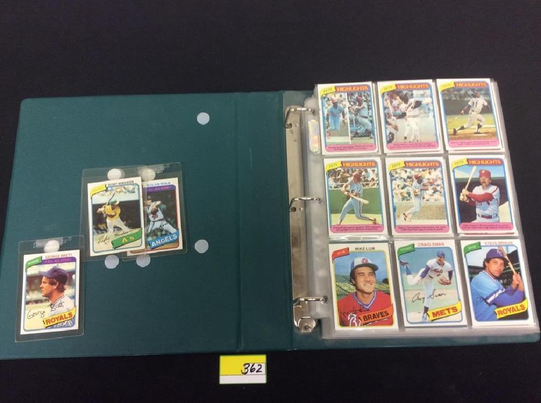 ONE LOT OF 680 MIXED ASSORTMENT OF 1980 TOPPS BASEBALL - 10
