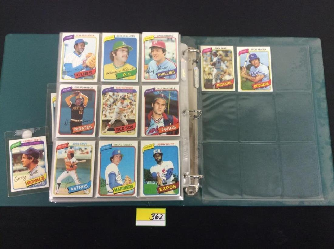 ONE LOT OF 680 MIXED ASSORTMENT OF 1980 TOPPS BASEBALL - 4