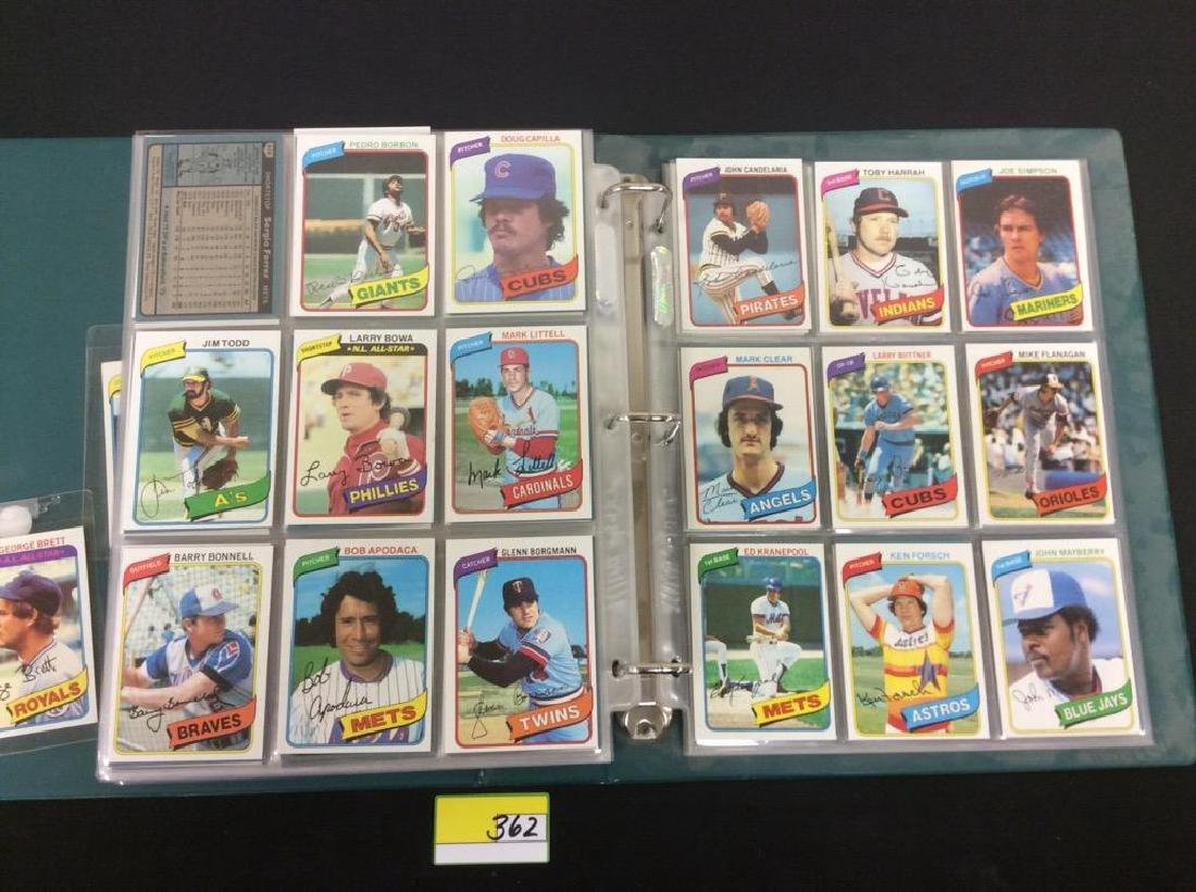 ONE LOT OF 680 MIXED ASSORTMENT OF 1980 TOPPS BASEBALL - 5