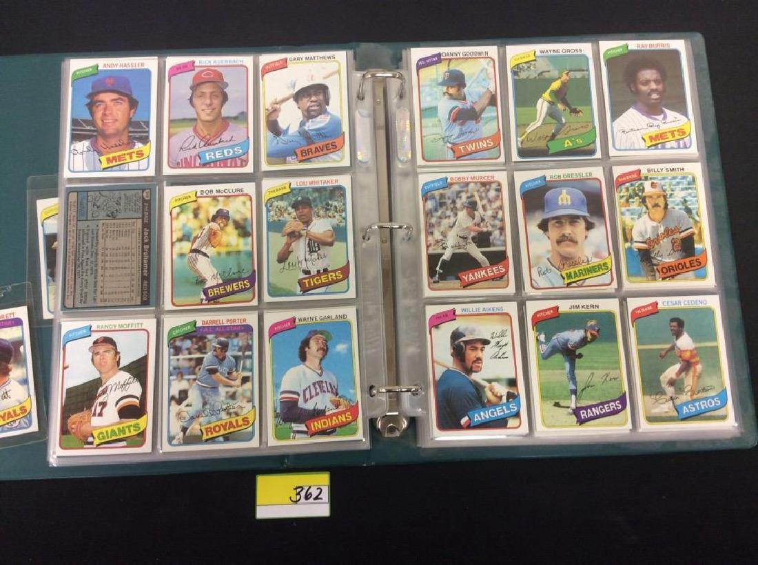 ONE LOT OF 680 MIXED ASSORTMENT OF 1980 TOPPS BASEBALL - 6