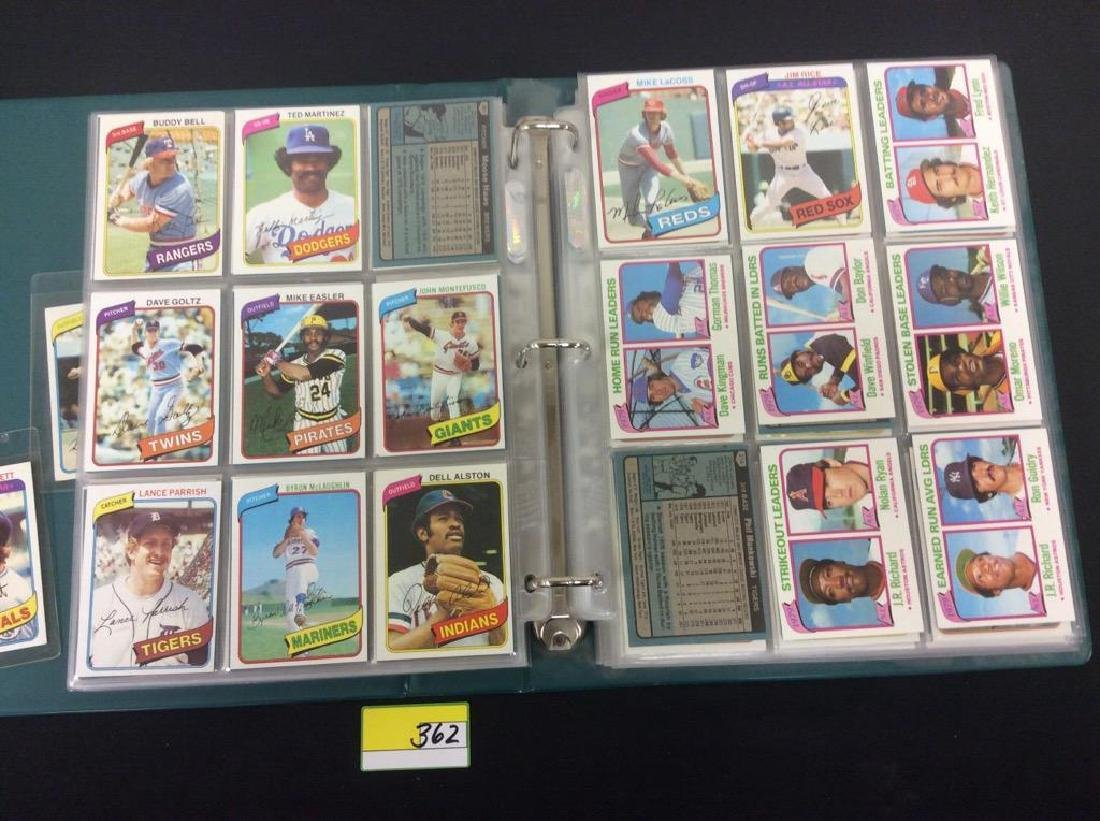 ONE LOT OF 680 MIXED ASSORTMENT OF 1980 TOPPS BASEBALL - 7