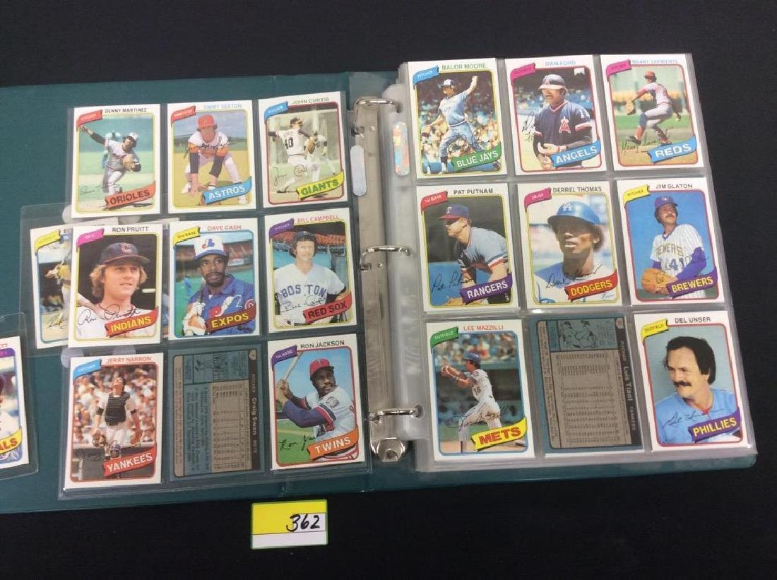 ONE LOT OF 680 MIXED ASSORTMENT OF 1980 TOPPS BASEBALL - 8