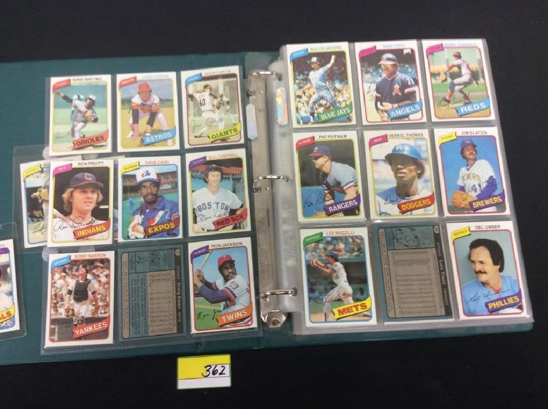 ONE LOT OF 680 MIXED ASSORTMENT OF 1980 TOPPS BASEBALL - 9