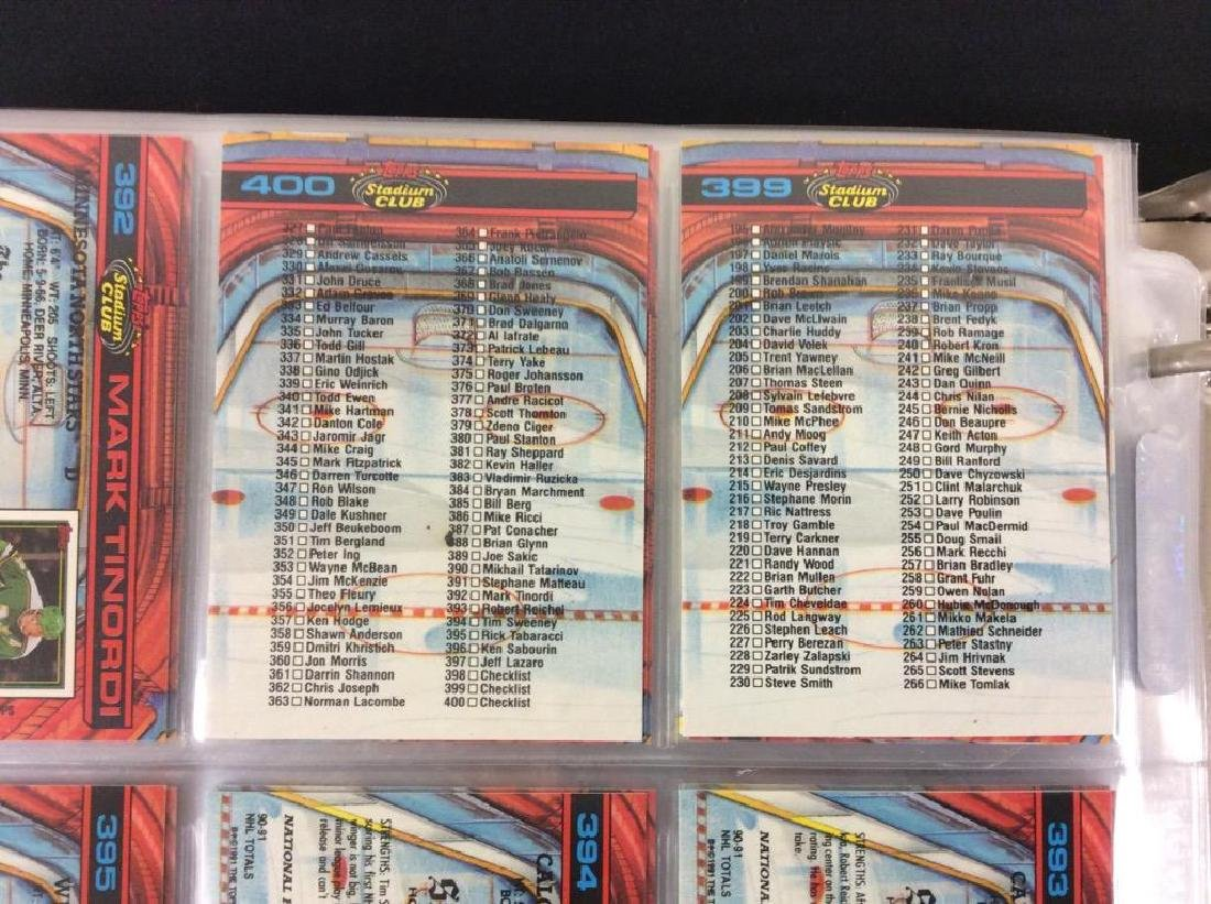 LOT OF 410 MIXED LOT 1990'S NHL TRADING CARDS. UPPER - 10