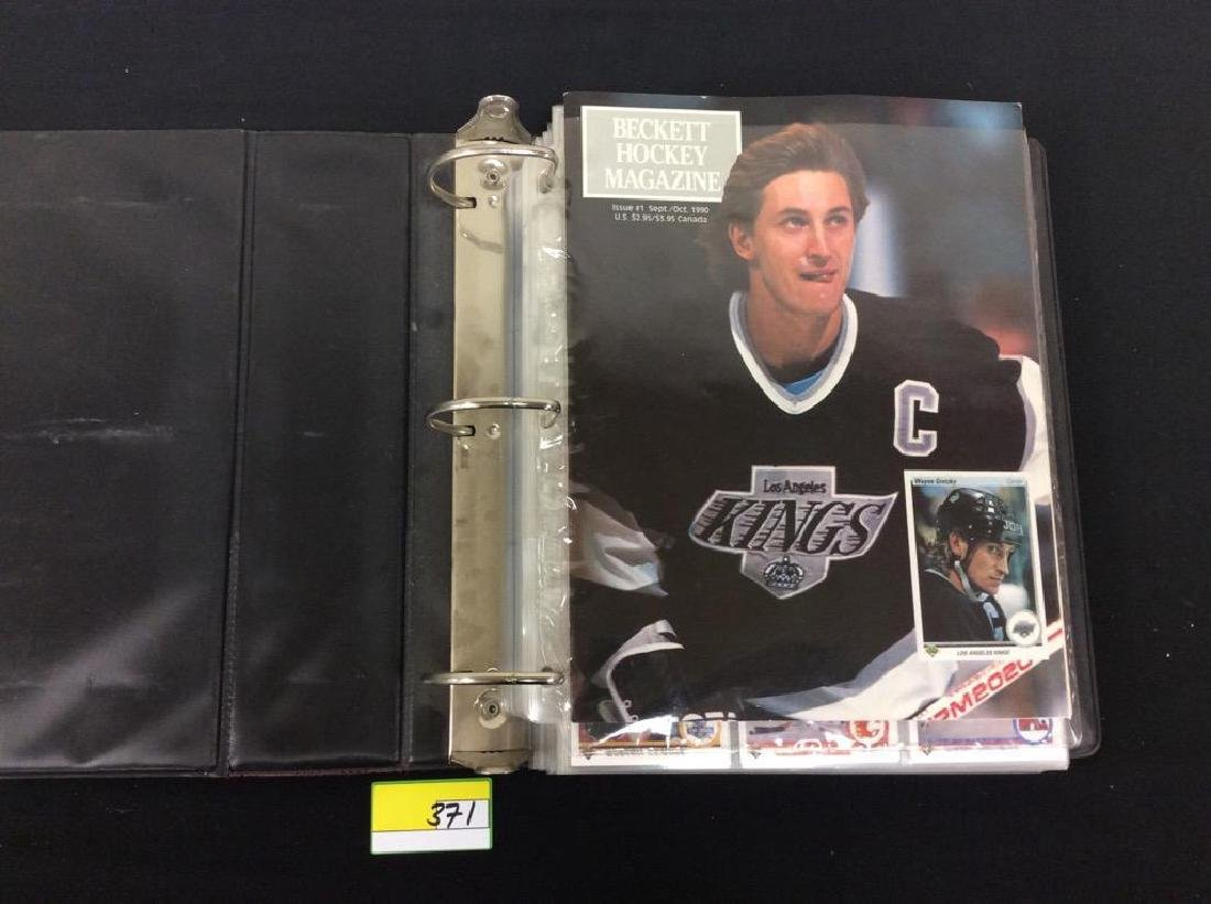 LOT OF 410 MIXED LOT 1990'S NHL TRADING CARDS. UPPER - 2