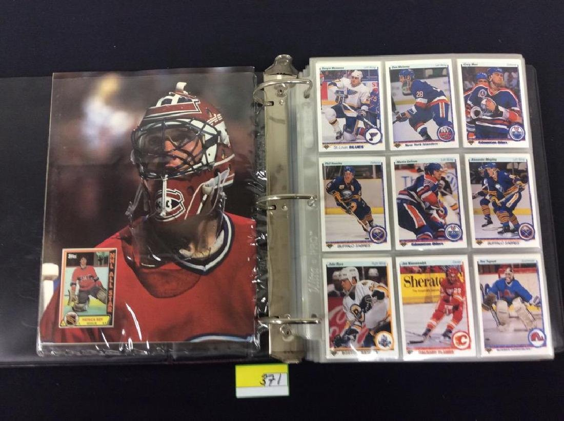 LOT OF 410 MIXED LOT 1990'S NHL TRADING CARDS. UPPER - 3