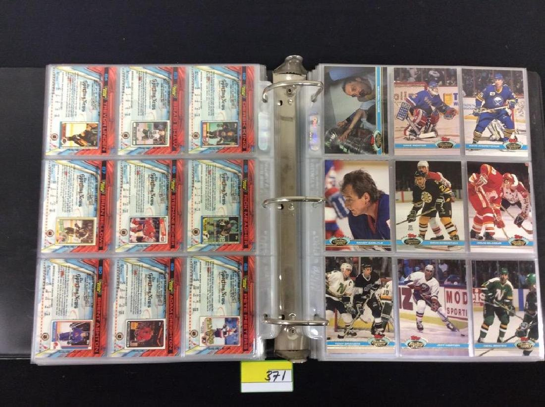 LOT OF 410 MIXED LOT 1990'S NHL TRADING CARDS. UPPER - 5