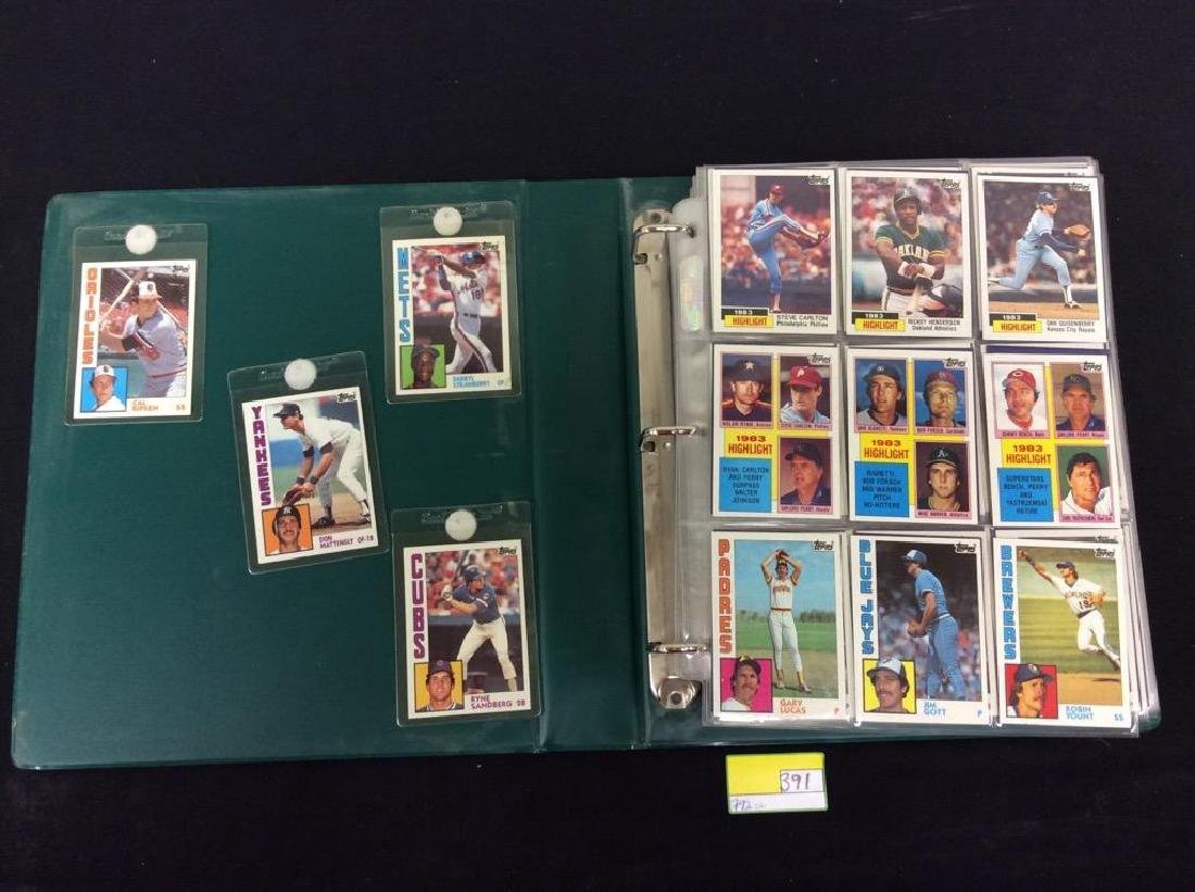 LOT OF 792, 1984 TOPPS BASEBALL CARDS. MANY HALL OF - 2