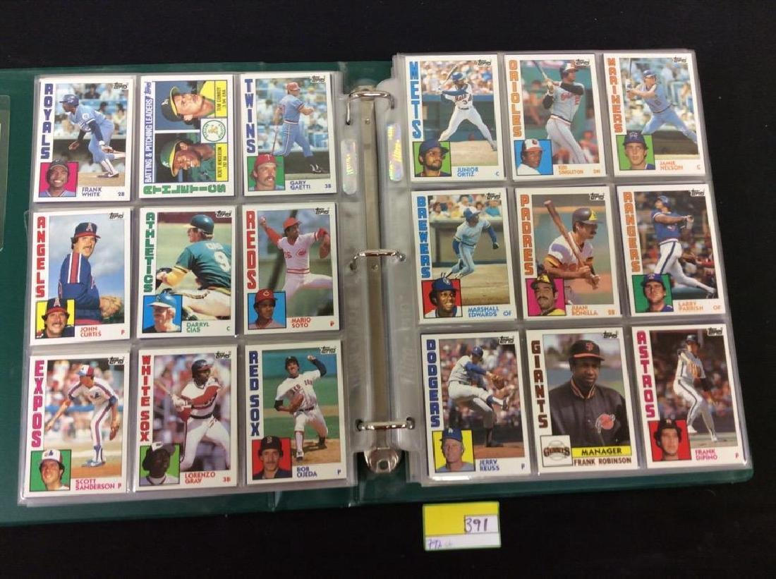 LOT OF 792, 1984 TOPPS BASEBALL CARDS. MANY HALL OF - 3