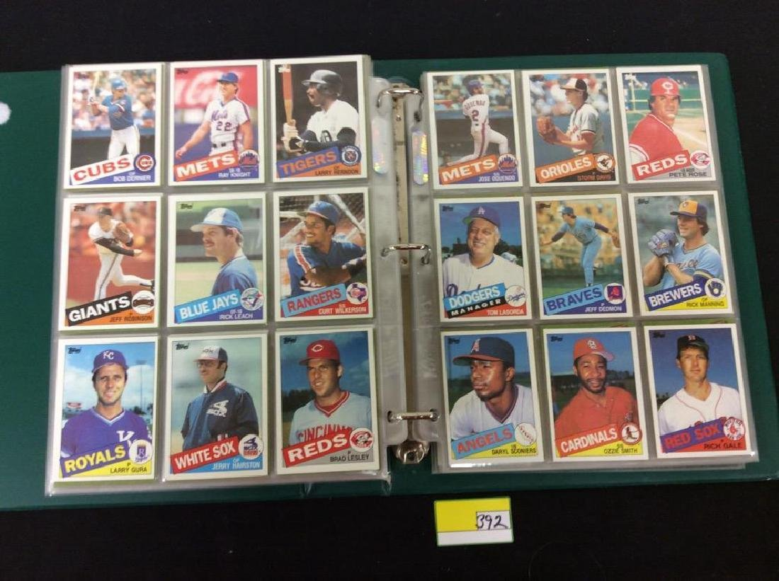 LOT OF OVER 750, 1985 TOPPS BASEBALL CARDS. MANY HALL - 7