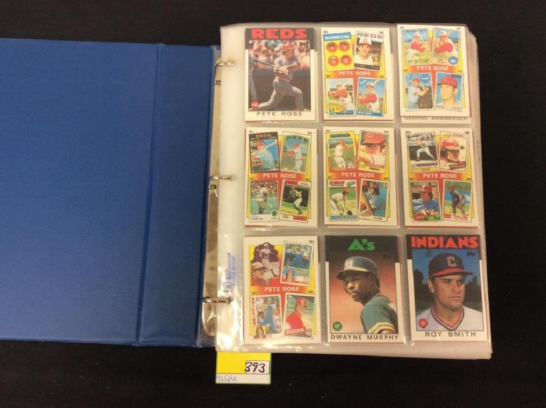 LOT OF OVER 925, 1986 TOPPS BASEBALL CARDS. MANY HALL
