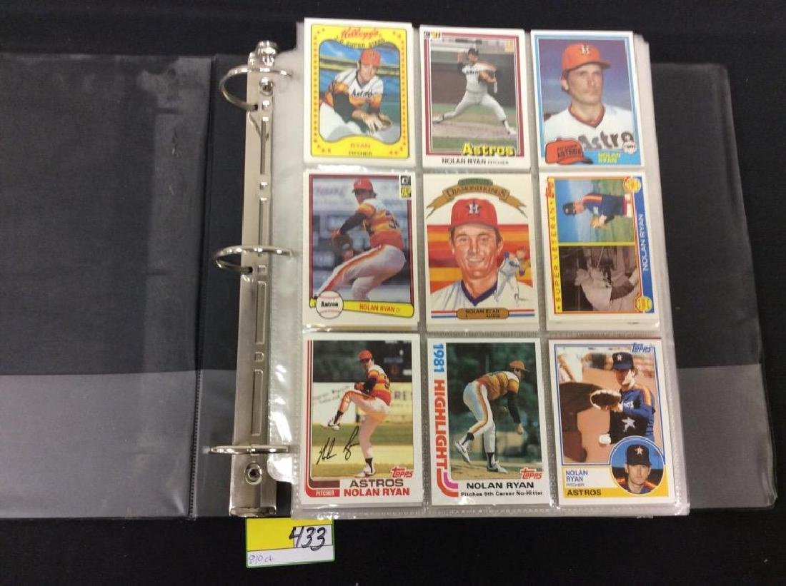 LOT OF 810 TOPPS BASEBALL CARDS. ASTROS,ROYALS AND THE