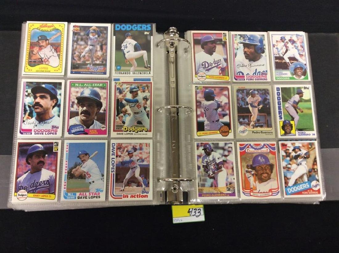 LOT OF 810 TOPPS BASEBALL CARDS. ASTROS,ROYALS AND THE - 5