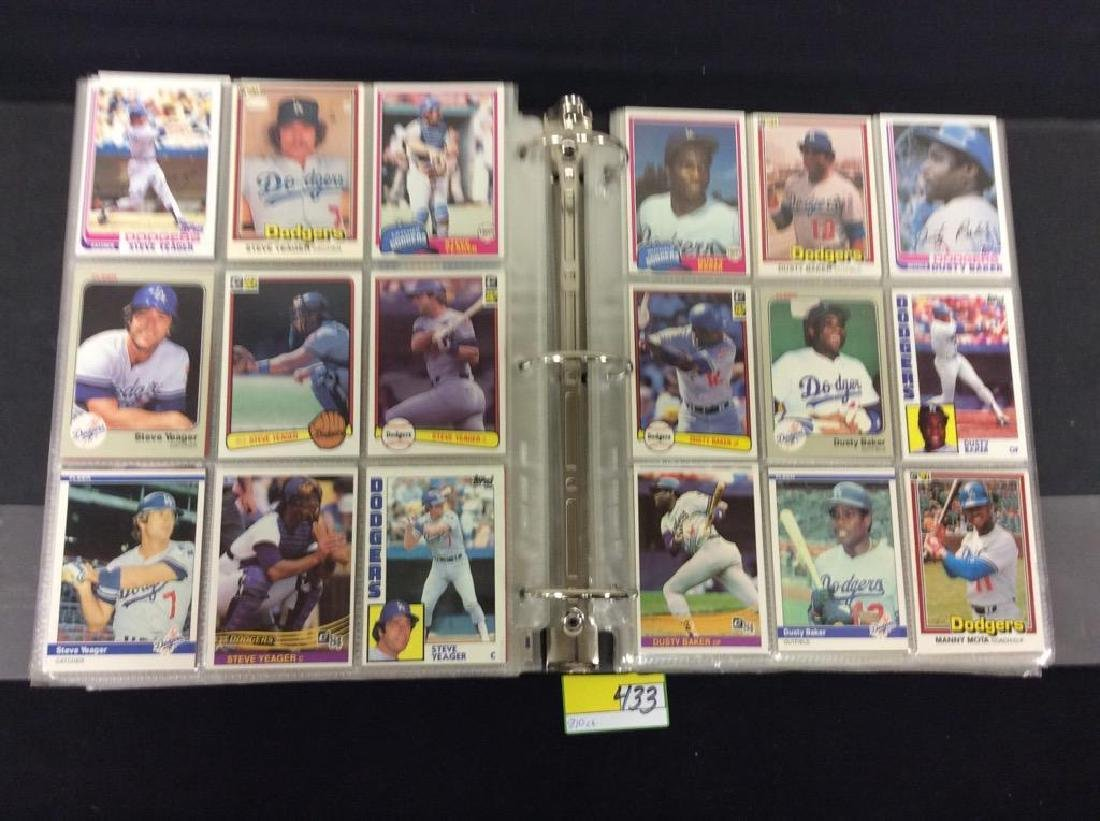 LOT OF 810 TOPPS BASEBALL CARDS. ASTROS,ROYALS AND THE - 6