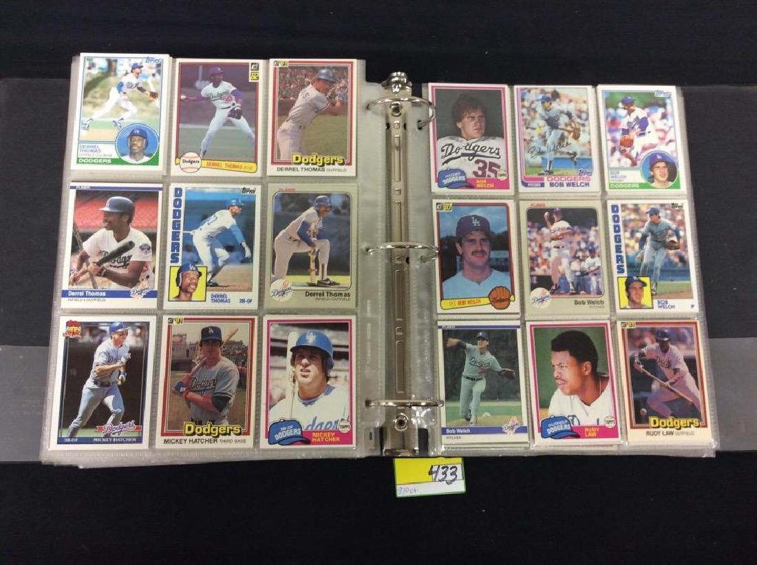 LOT OF 810 TOPPS BASEBALL CARDS. ASTROS,ROYALS AND THE - 7