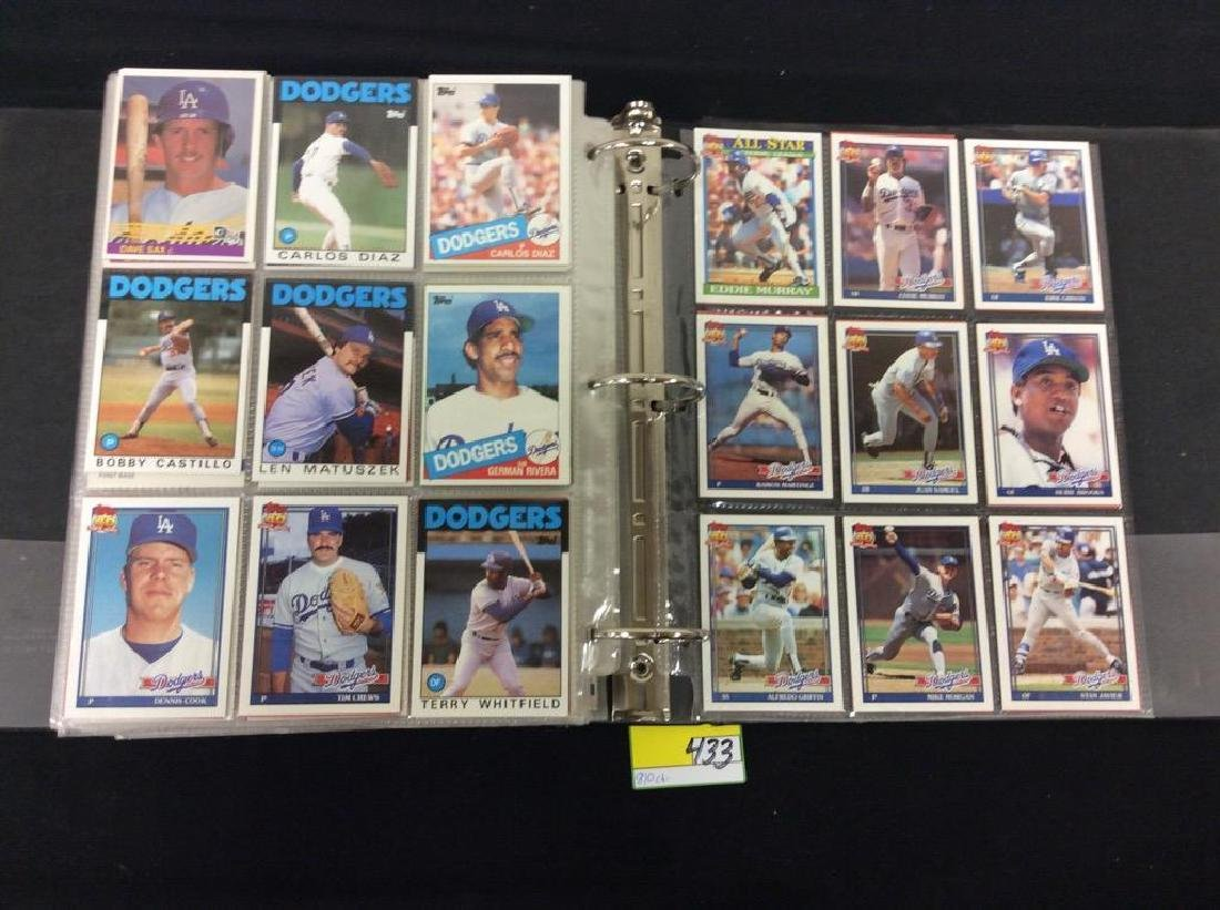 LOT OF 810 TOPPS BASEBALL CARDS. ASTROS,ROYALS AND THE - 8