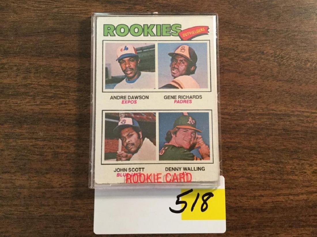 1977 TOPPS ANDRE DAWSON RC ROOKIE