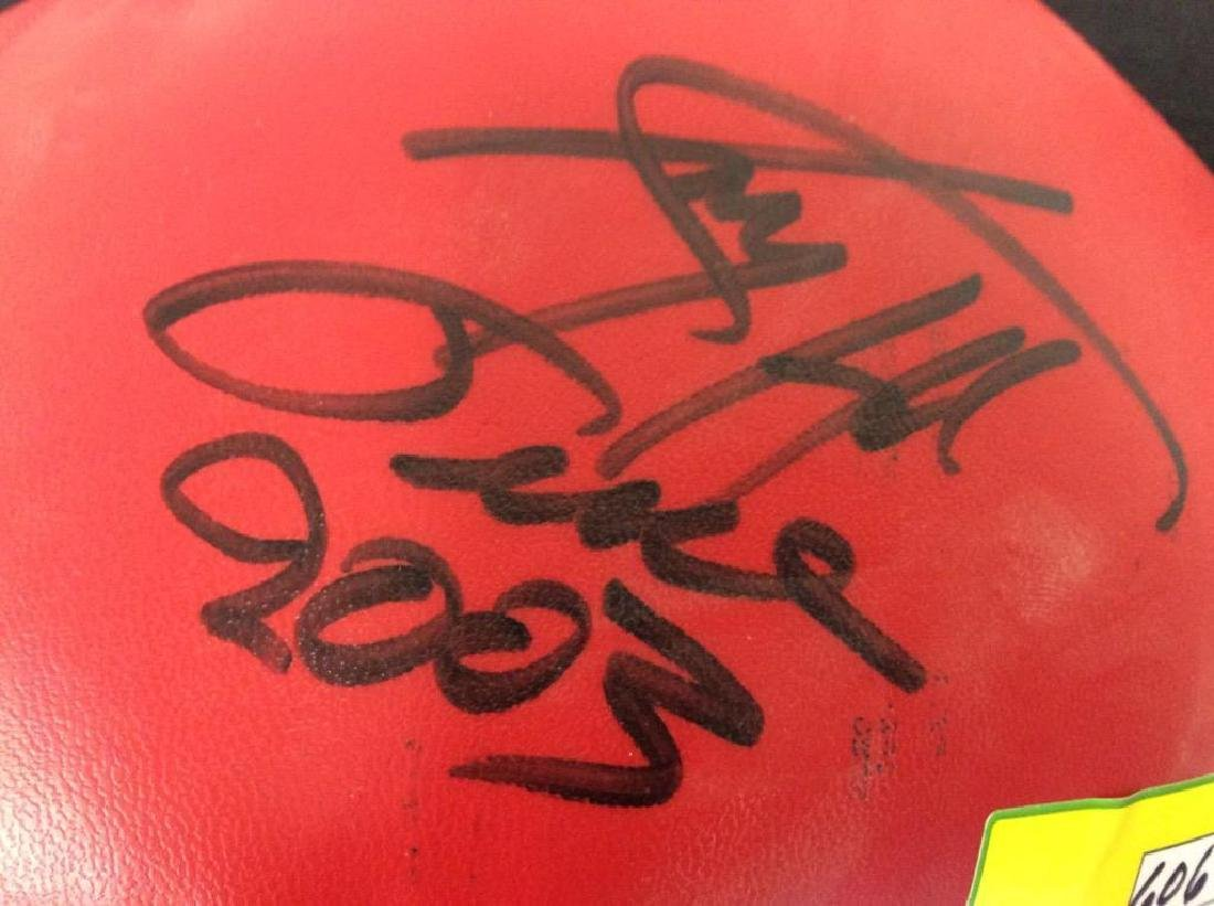 HAND SIGNED AUTOGRAPHED LARRY HOLMES EVERLAST BOXING - 2