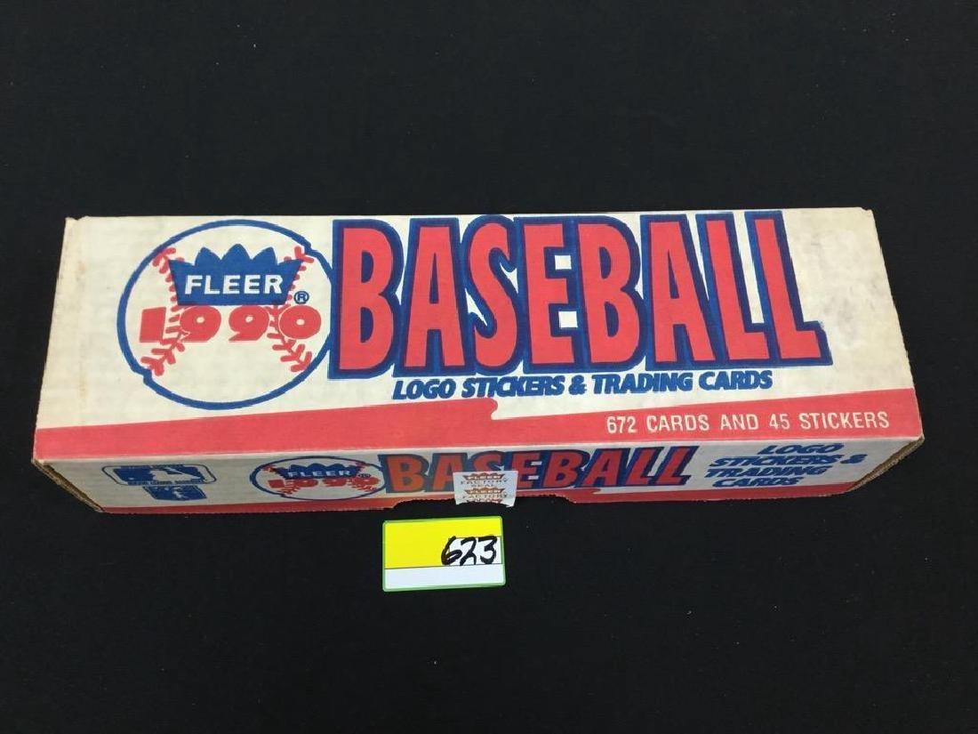 1990 Fleer Baseball Logo Stickers And Trading Cards Nov