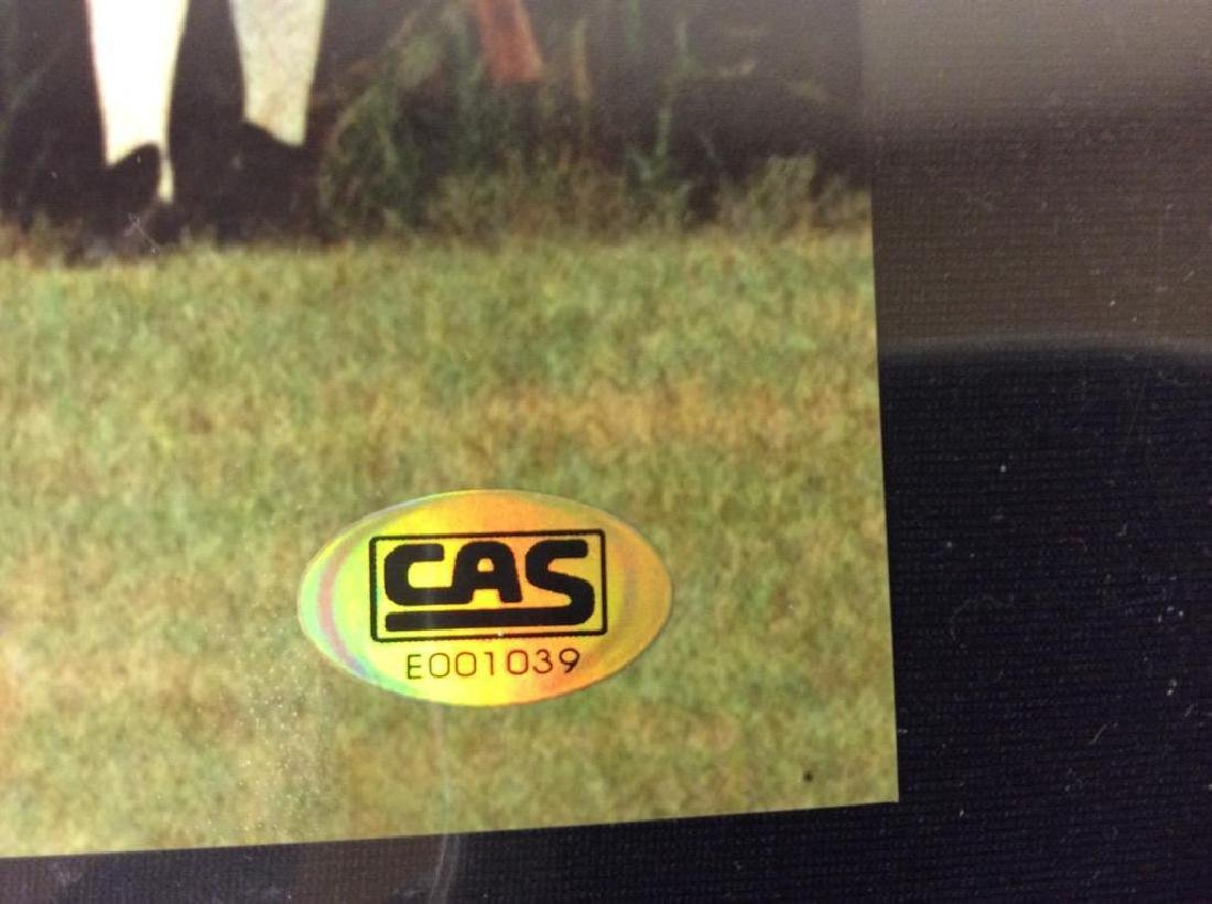 AUTOGRAPHED DWIER BROWN, 8x10 FIELD OF DREAMS. COA. CAS - 2