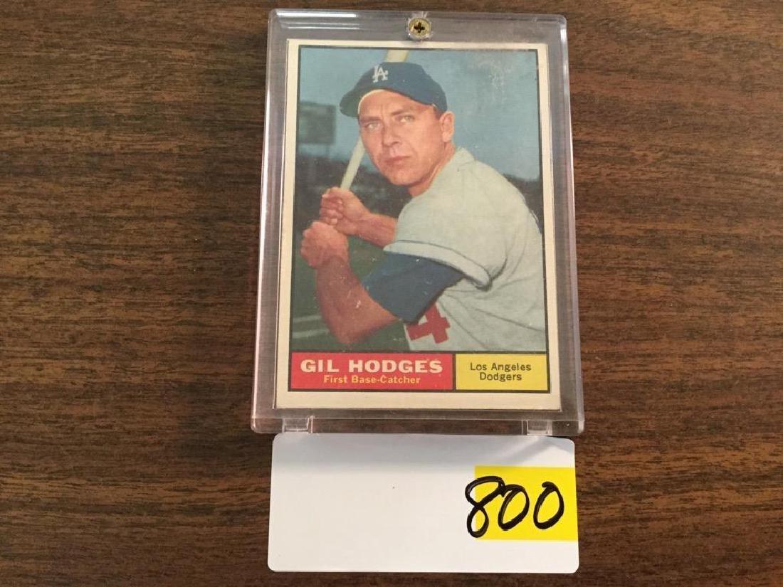 1961 TOPPS GIL HODGES