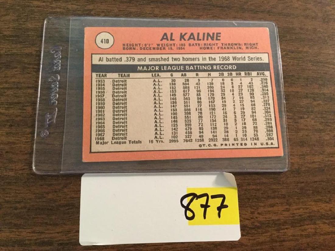 1969 TOPPS AL KALINE - 2